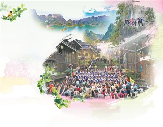 广西创新乡村旅游发展模式助推脱贫攻坚,增添乡村振兴新动能
