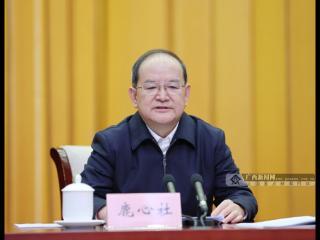 自治区党委、政府召开全区农村工作会议 鹿心社出席会议并讲话 蓝天立主持