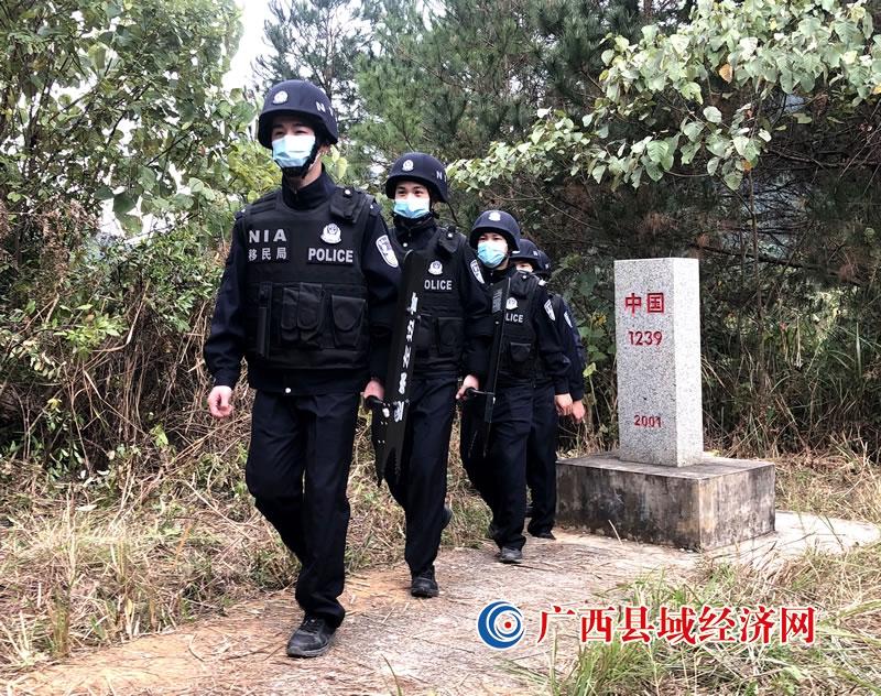 宁明边境警察加大边境管控力度严防境外疫情输入