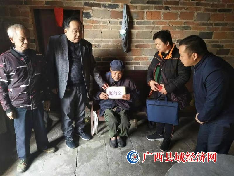 龙圩区:情系计生特殊家庭走访慰问送温暖