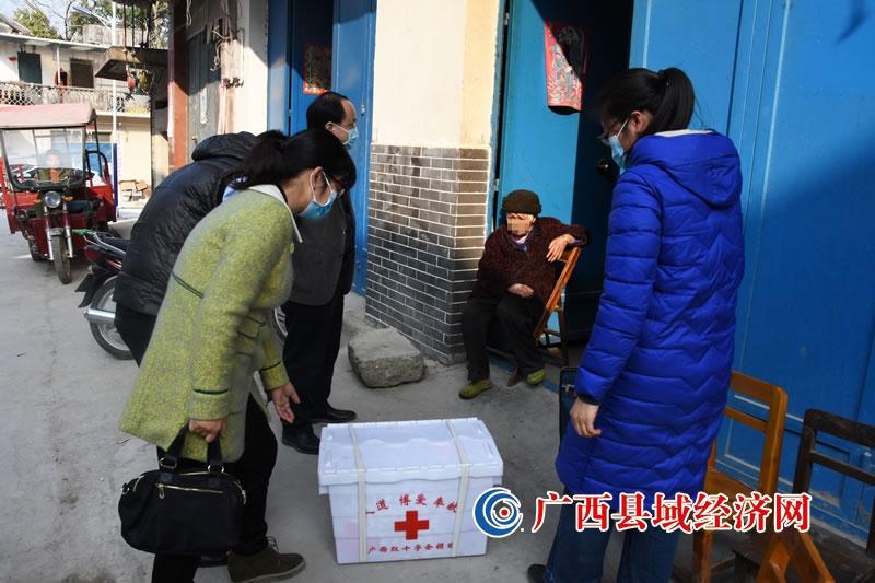 大化县:关爱麻风病愈后患者,春节慰问暖人心
