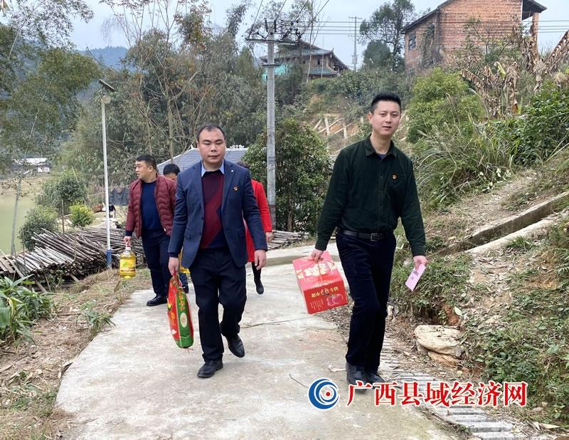 融安县:跋山涉水送温暖 携手同行献爱心