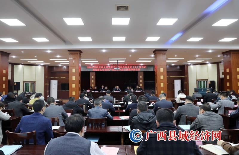 融安县:召开落实主体责任述职评议会