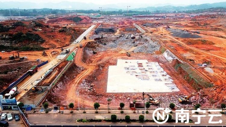 南宁-崇左城际铁路加紧推进 明年6月底完成施工