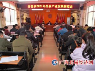 凤山县乔音乡:加快推进桑蚕产业发展 助力利民产业显新突破
