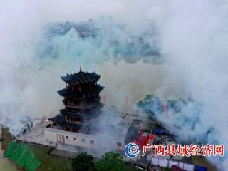 广西融安县旅游集散中心(香杉阁)竣工