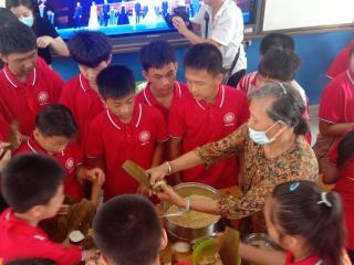 宁明县城中镇中心小学举办端午节系列活动