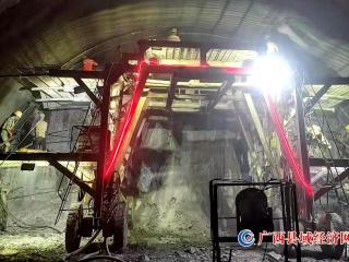 喜訊!中秋節這天,貴南高鐵德惠隧道實現貫通