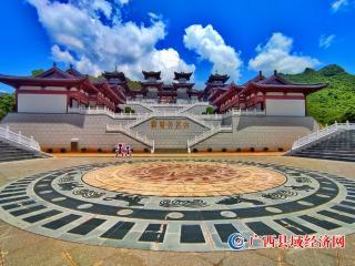 宁明:美景骆越文化宫 文化旅游入画中