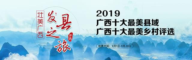 壮美广西 发县之旅——2019广西十大最美县域、广西十大最美乡村评选