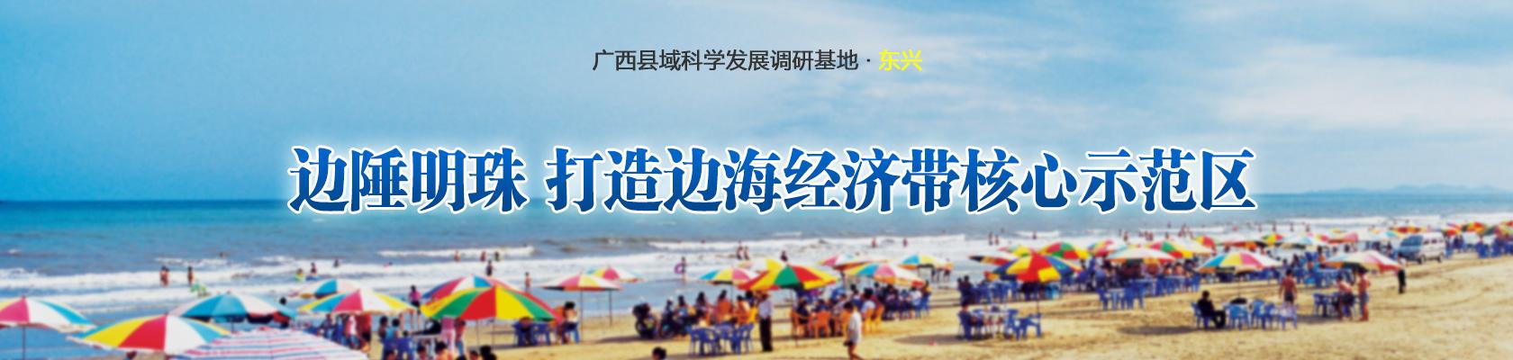 东兴市:边陲明珠 打造边海经济带核心示范区