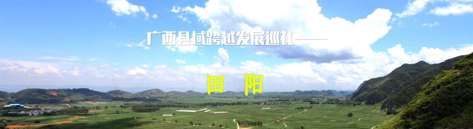 广西县域跨越发展巡礼——田阳