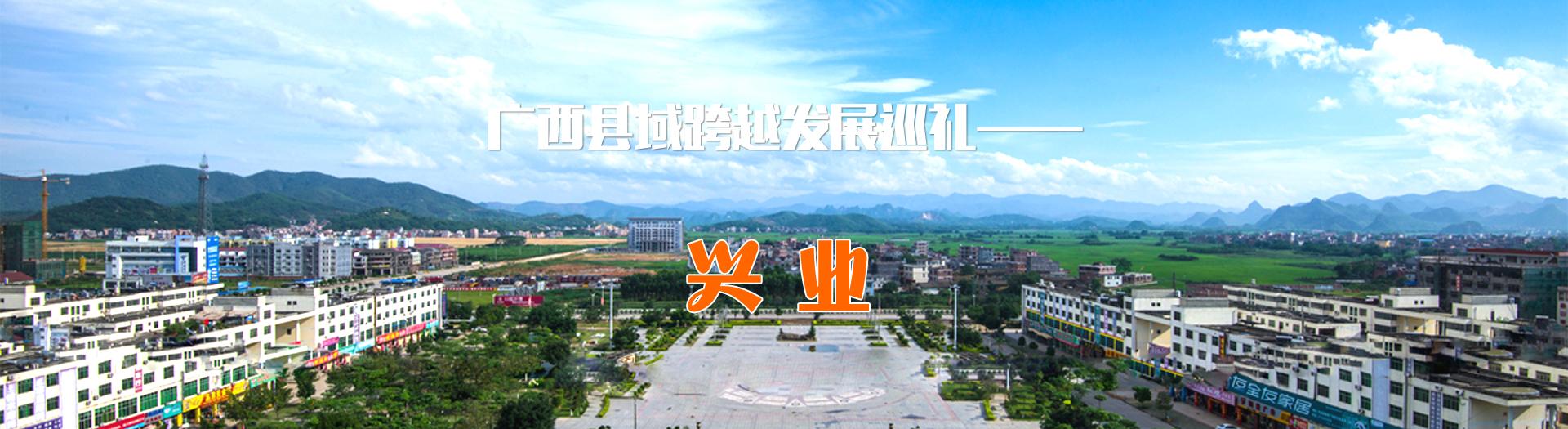 广西县域跨越发展巡礼——兴业