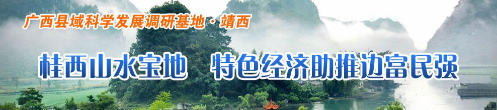 桂西山水宝地  特色经济助推边富民强